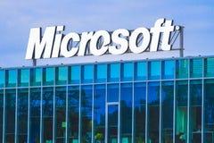 Microsoft högkvarter royaltyfri bild