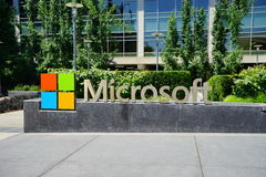 Microsoft högkvarter arkivbilder