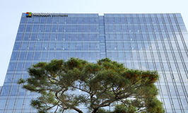 Microsoft Head Office in South Korea Stock Photography