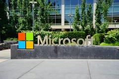 Microsoft-hoofdkwartier stock afbeeldingen