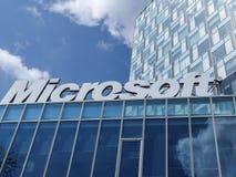 Microsoft korporaci budynek biurowy Obrazy Royalty Free