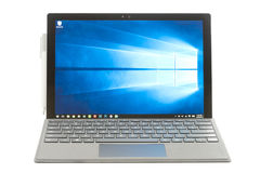 Microsoft Oberflächenpro4 Lizenzfreies Stockfoto