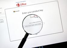 Microsoft Office 2019 obrazy stock