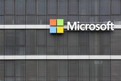 Microsoft Office budynek w Kolonia, Niemcy fotografia stock