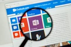Microsoft Office Jeden notatka obraz stock