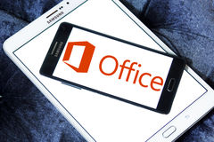 Microsoft Office logo Zdjęcia Royalty Free