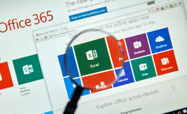 Microsoft Office 365 Royalty Free Stock Image