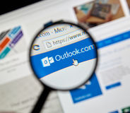 Microsoft Office Outlook. Stock Image