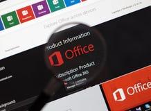 Microsoft Office słowo, Excel Zdjęcia Stock