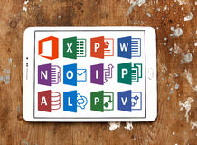 Microsoft Office słowo, przoduje, Powerpoint Obraz Stock