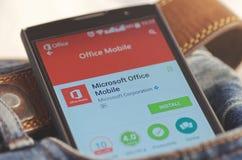 Microsoft Office wiszącej ozdoby apps obraz royalty free