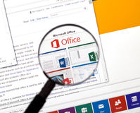 Microsoft Office Word, Excel. Royalty Free Stock Photos