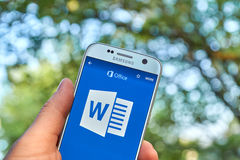 Microsoft Office 365 Word Royalty Free Stock Photos