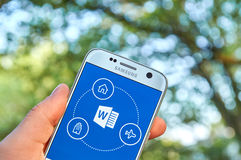 Microsoft Office 365 Word Stock Images