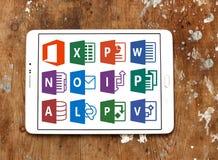 Microsoft Office-Wort, übertreffen, PowerPoint Stockbild