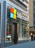 Microsoft-opslag Royalty-vrije Stock Foto
