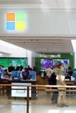 Microsoft-Opslag Aventura Florida Royalty-vrije Stock Foto's