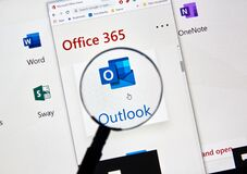 Free MIcrosoft Outlook Icon Royalty Free Stock Images - 169124389