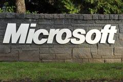 Microsoft Pisać list Zdjęcie Stock