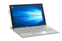 Microsoft pro 4 de superfície Fotografia de Stock