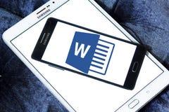 Microsoft słowa logo zdjęcia royalty free