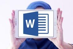 Microsoft słowa logo obrazy stock