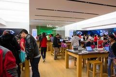 Microsoft sklep na Black Friday 2014 zdjęcia stock