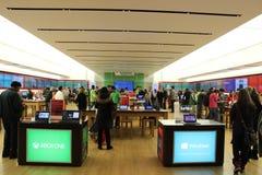 Microsoft speichern Lizenzfreies Stockfoto