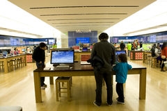 Microsoft store. A new Microsoft store opened in Bellevue Square Mall, Bellevue city, Washington state, USA. Microsofts headquarter is in that city Royalty Free Stock Images