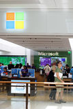 Microsoft Store Aventura Florida Royalty Free Stock Photos