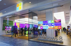 Microsoft store honolulu Royalty Free Stock Photo