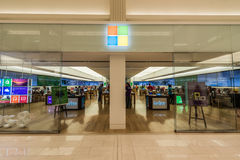 Microsoft store in Mall of America. MINNEAPOLIS,MN - JULY 28: Microsoft store in Mall of America, in Minneapolis, MN, on July 28, 2013 Stock Images