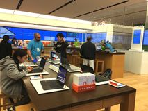 Microsoft Store Stock Images