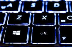 Microsoft-Tastatur Stockbild