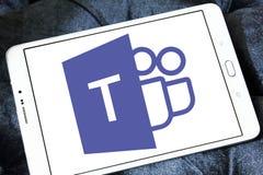 Microsoft Teams Logo lizenzfreie stockfotografie