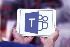Microsoft Teams logo royaltyfria bilder