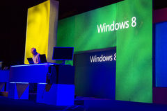 Microsoft TechEd Conference 2012 Stock Photos