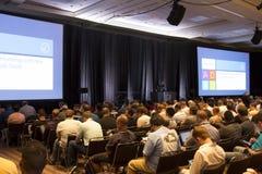 Microsoft TechEd konferens 2012 arkivbilder