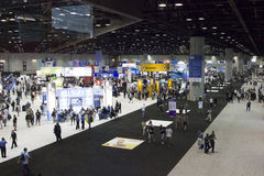 Microsoft TechEd konferens 2012 royaltyfri bild