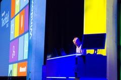 Microsoft TechEd konferens 2012 arkivfoton