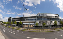 Microsoft Technology Center (MTC) in Cologne. A new modern building, in Cologne - Microsoft Deutschland GmbH Stock Photo