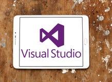 Microsoft Visual Studio logo royaltyfri bild