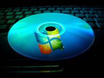 Microsoft Windows neuf Photo libre de droits