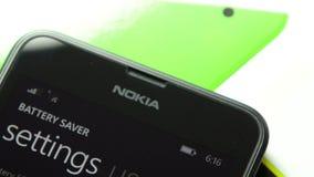 Microsoft Windows telefon - bateryjny użycie zbiory