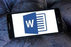Microsoft word logo Stock Photos