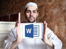 Microsoft word logo Stock Photo