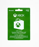 Microsoft Xbox gift card on a white background. Stock Images