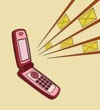 Microteléfono Fotografía de archivo