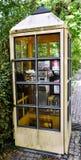 Microteléfono de teléfono rosado Fotografía de archivo libre de regalías