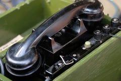 Microteléfono del teléfono imagen de archivo